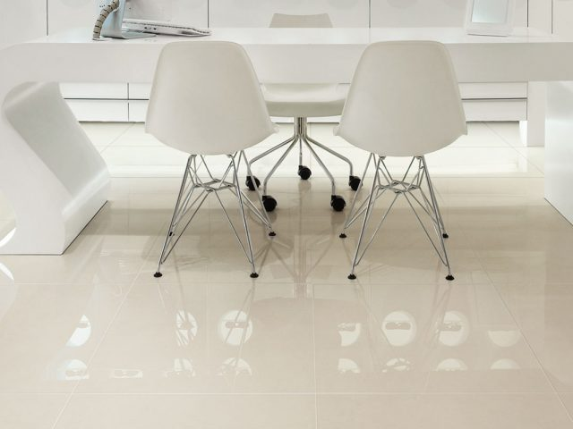 Forever Porcelain Tile Installation with Ice Tiles