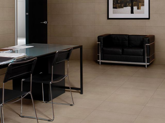 Foulard Collection - Beige Linen Look Porcelain Tiles