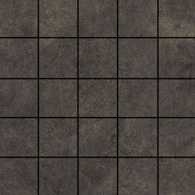 Ithaca Brown Medium 2x2 Mosaic Tile