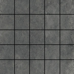 Ithaca Light Grey Medium 2x2 Mosaic Tile