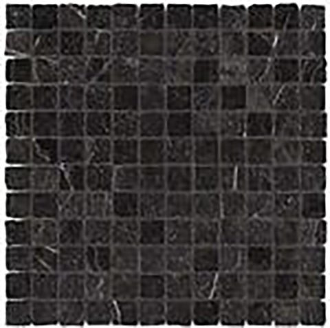 Legendary Black 1x1 Mosaic Tile