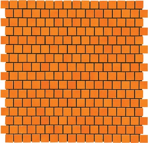 Lively Mosaic Orange