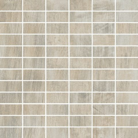 Metalized 12x12 Building Block Mosaic Sand