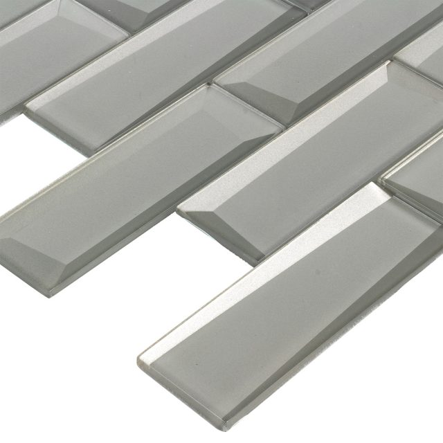 Outlast Silver Glass Wall Tile