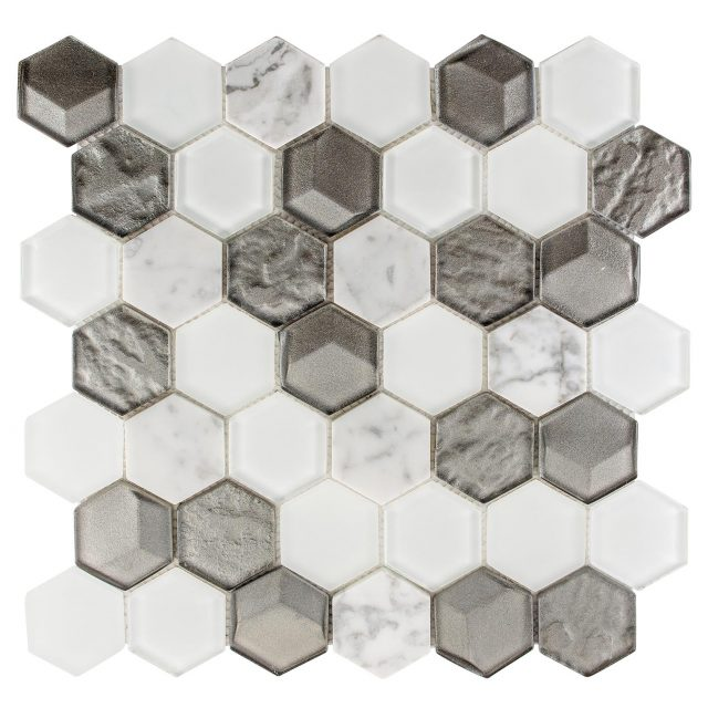 Queen's Lair Classic Glass Mosaic Tile Collection - Aspen Grove