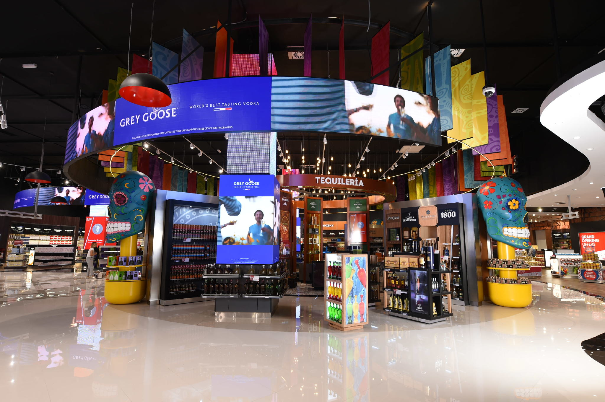 Cancun Airport Retail Floors Case Study