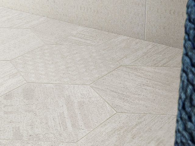 Beckoning Porcelain Tile Installation