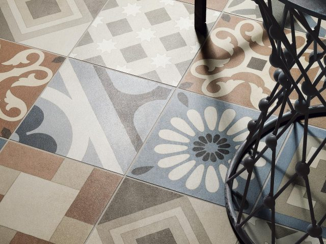 Bower Throwback Collection Floor Tile Installation