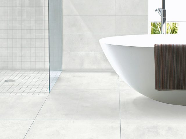Business Colorbody Porcelain Tile Collection Grey Installation