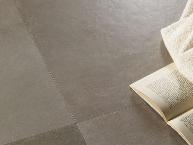 Catania Collection Concrete-Look Porcelain Tile Installation