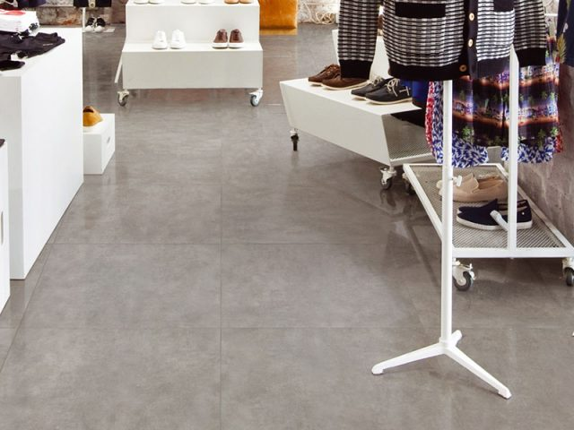Compound Collection in 24x24 Grey Porcelain Tile