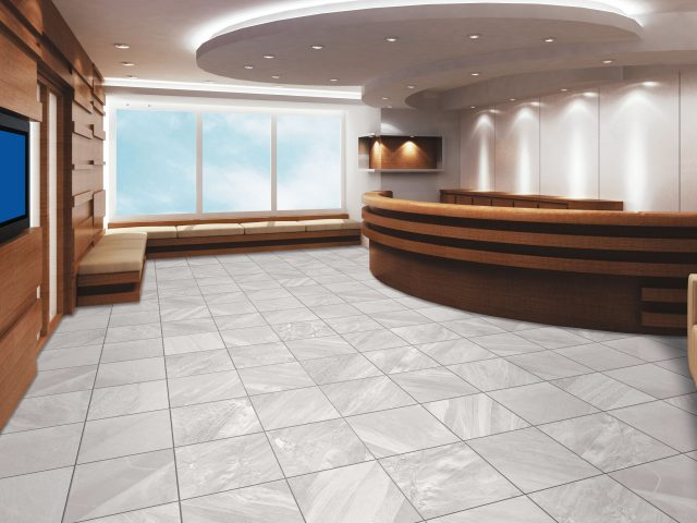 Cosmic Stone Aesthetic Porcelain Tile Installation in Orion