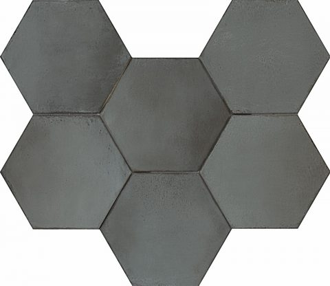 Resort Oxidized Green Hex Decor