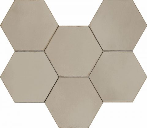 Resort Taupe Hex Decor