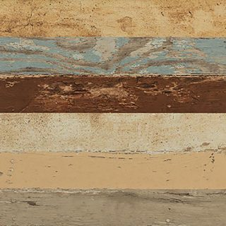 Multicolored Salvagewood Porcelain Tiles