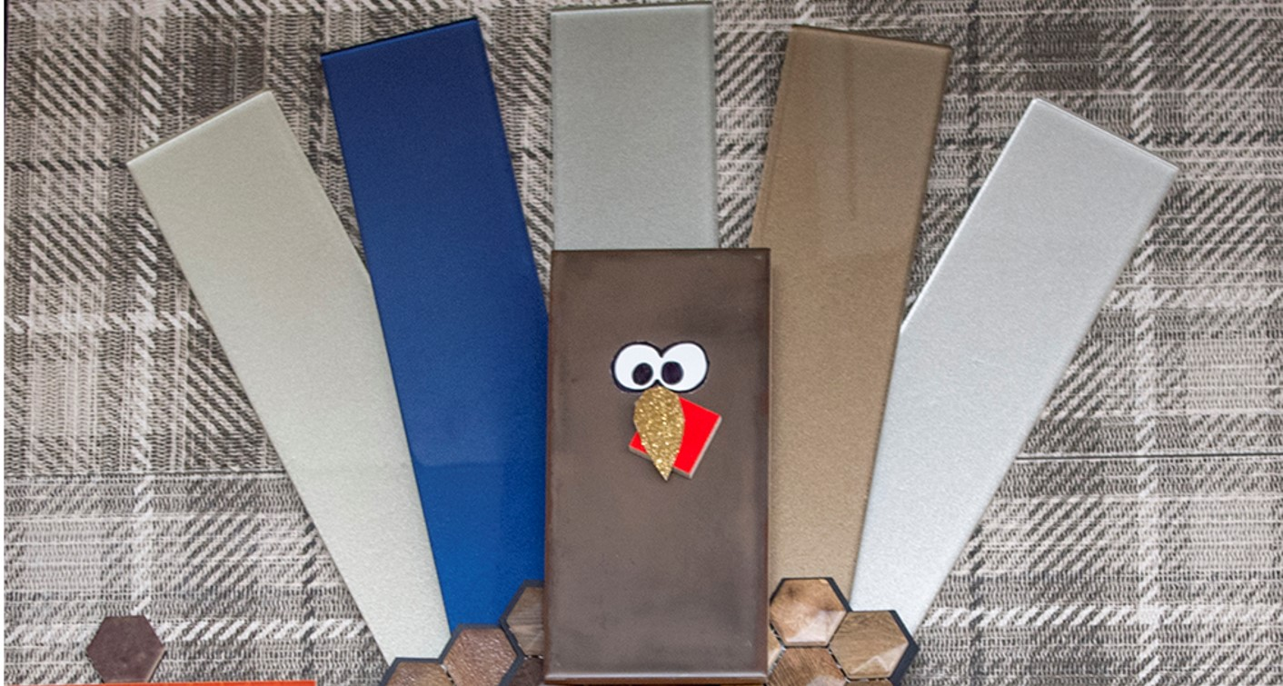Tom the Turkey Tile Banner