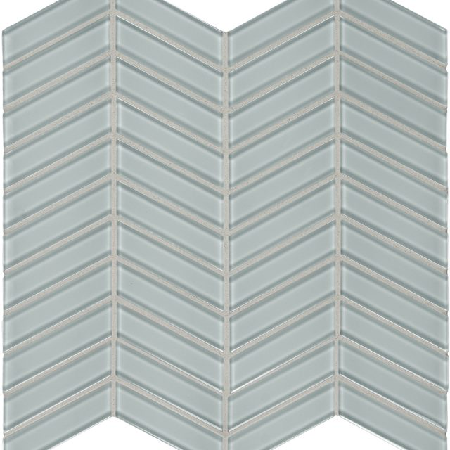 Admired Light Grey Chevron